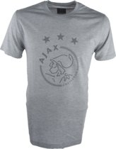 Ajax t-shirt Kinderen - grijs - maat 140