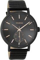 OOZOO Timepieces Zwart horloge  (42 mm) - Zwart