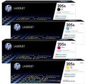 HP 205A Rainbowkit (CMYK) CF530A, CF531A, CF532A, CF533A