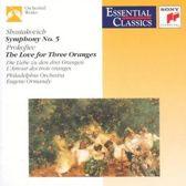 Shostakovich: Symphony No. 5, Prokofiev: Love for Three Oranges