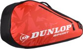 Dunlop Tour Tennistas (3 rackets) - Rood