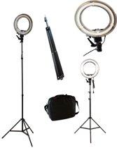 LED Foto Ringlamp Op Statief - Fotografie Ringlicht Houder - Studiolamp Verlichting - 40W