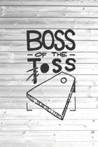 Boss of the Toss Cornhole Game Champ Journal
