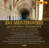 100 Meisterwerke Geistl Chorm 4 Cd