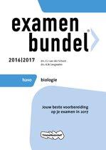 Omslag van 'Examenbundel havo Biologie 2016/2017'