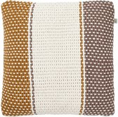Kussenhoes Petra 45x45 cm taupe