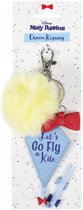 Disney: mary poppins keyring with charms lets go fly a kite