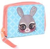 Lulupop & the Cutiepies - bunny - portemonnee - kinderen - 11x8x2 cm