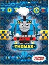 Thomas de Trein - Elastomap - A4 - Blauw