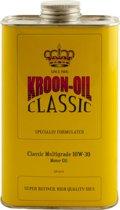 Kroon Oil Motorolie Mineraal Classic Multigrade 10w-30 1 Liter