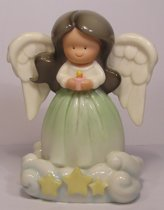 CloudWorks: Little Angels Hispanic A Little Peace, Hoogte 10.5cm