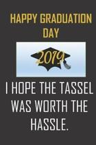 Happy Graduation Day 2019. I hope the tassel was worth the hassle.