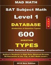 2018 SAT Subject Math Level I Database