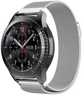 KELERINO. Milanees bandje - Samsung Galaxy Watch (46mm)/Gear S3 - Zilver