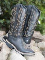 Westernlaarzen -Montana- zwart 46