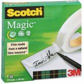 Scotch Magic Tape - 810 - 19mm x 66m - Onzichtbaar