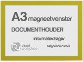 Magneetvenster A3 - Geel