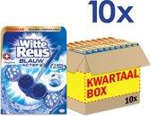 Witte Reus Blauw Actief Hygiene Toiletblok - 10 stuks