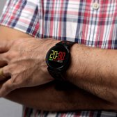 K2-3D-kleur scherm Display Bluetooth Smart Watch  waterdicht IP68  steun stappenteller / bloeddruk Monitor / Heart Rate Monitor / slapen Monitor  compatibel met Android en iOS Phones(Blue)