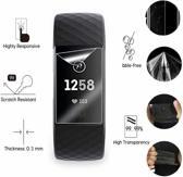 Screenprotectors Set geschikt voor de Fitbit Charge 3 - 3 stuks