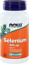 NOW Selenium 200 mcg - 90 Vegacapsules