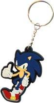Sonic: Standing Sonic Rubberen sleutelhanger