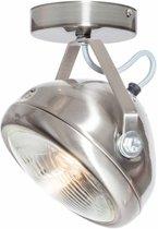 Plafondlamp Lichtlab No. 7 staal