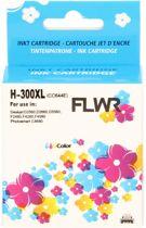FLWR - Inktcartridge / 300XL Kleur - Geschikt voor HP