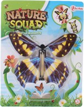Toi-toys Nature Squad Opwindbare Vlinder 12 Cm Blauw