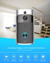 DVSE Draadloze video Deurbel HD 720 P WIFI Camera Deurtelefoon Nachtzicht Bewegingsdetectie Alarm Intercom inclusief ring module voor offline functionaliteit