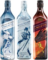 Johnnie Walker A Song of Ice, Fire & White Walker bundle - 3 x 70 cl