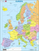 Puzzel Maxi Kaart - Europa - 37 stukjes