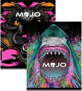 MOJO Neon Girls Schriften A5 Gelinieerd. Verpakt per 3 stuks