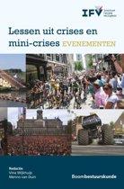 Lessen uit crises en mini-crises evenementen