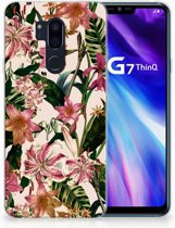 LG G7 Thinq Uniek TPU Hoesje Flowers