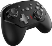 Nintendo Switch Controller  | Wireless Pro Controller ColdOrange | Nintendo Switch Cotroller Draadloos | Voor Nintendo Switch en Switch Lite |  Cadeau voor Man & Vrouw | Zwart