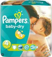 Pampers Baby luier Baby Dry Maat 4 - 280 stuks