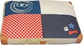 lief! Unisex loungekussen patchwork 100x70 cm
