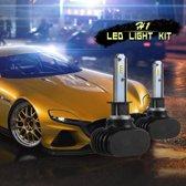 2 STKS H1 IP65 Waterdicht Wit Licht 6 CSP LED Auto Koplamp Lamp, 9-36 V / 18 W, 6000 K / 2000LM