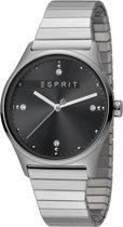 Esprit ES1L032E0105 horloge dames - zilver - edelstaal