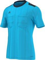 adidas UCL Sportshirt performance - Maat S  - Mannen - blauw/ zwart