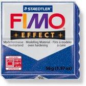 Fimo Effect glitter blauw 57 GR 8020-302