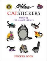 B. Kliban Catstickers Sticker Book Bs003