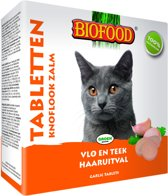 Biofood Kattensnoepjes Anti-Vlo - Zalm - 100 St