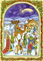 Adventskalender 85 Adventkalender 24 vakjes