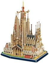 House of Holland Sagrada Familia - 3D Puzzel - 194 stukjes