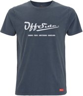 The Stone .. T-Shirt Regular fit Blue Stone White - Maat XS - Off Side - incl. Gratis rugzak
