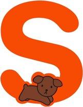 Nijntje houten letter  ''S''