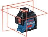 Lijnlaser GLL 3-80 4 x AA batterijen + richtplaat + etui