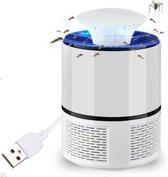 Muggen killer - muggen lamp - USB - mosquito killer - muggen vanger - lightning mosquito killer - muggenval - muggen - insectenvanger - mosquito - fruitvliegjes - ongediertebestrijding - WIT